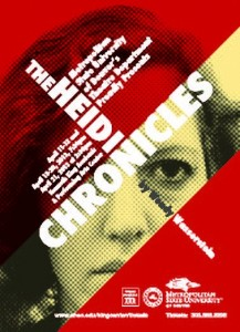 "Poster art for ""The Heidi Chronicles"""