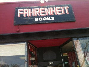 Welcome to Fahrenheit's! (photo by S.L. Alderton)