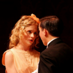 Gustavo in You Can't Take It With You alongside his Co-star Kayla Mally.