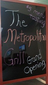 The Metropolitan Grill launched its grand opening by offering an all you can eat menu tasting promotion on Monday Feb.10 2014. [Photo by Daniel Day]