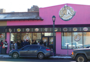 Denverites feel Voodoo Doughnuts are worth waiting for. [Photo by Cherise Scrivner]
