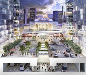 The new future look of  Union Station in Denver (Photo provided by RTD of Denver)
