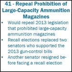 41 Repeal Ammunition Limits