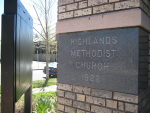 Marriage for all-Highlands United Methodist Church is one of the organizations that is part of Faithful Voices for Strong Families. Photo by Angela Jackson.