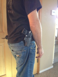 Open carry is now legal in all Castle Rock public buildings and parks. [Photo by Emily Pennetti]