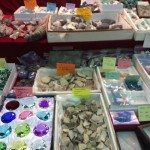 There was a lot of variety in the types of rocks and gems. Photo by Kelsey Nelson.