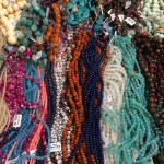 Jeweler y and beads for sale. Photo by Kelsey Nelson.