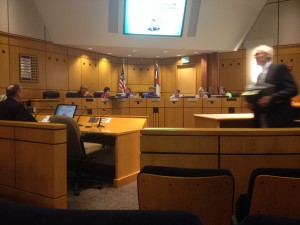 Parker Town Council speaks openly about a mass casualty training event. [Photo by Emily Fox]