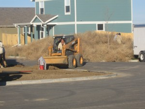 """Whitney Grant says, """"Tumbleweeds are a familiar sight."""" She was surprised to find them barricading people inside their homes"""