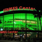 A prime location for improving our greener habits is at the Staples Center in Los Angeles. (Photo Provided by Krista Ballard)