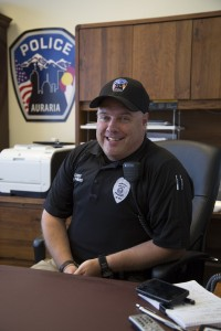 Auraria Campus Police Chief Michael Phibbs, joined the department after a nation-wide search on Aug. 11, 2015.
