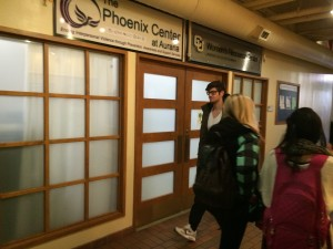 The Phoenix Center at Auraria is located at the Tivoli Student Union Suite 259 [Photo: Khaleel Herbert]