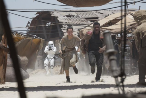 """Star Wars: The Force Awakens,"" directed by J. J. Abrams,"