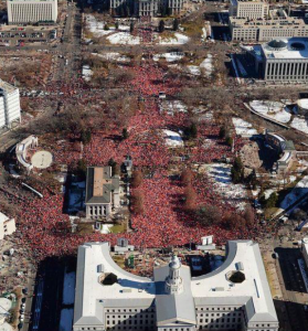 Aerial Photo of Civic Center, Photo from The Denver Post